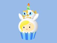 Fionna and Cake Cupcake