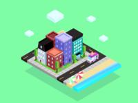 Isometric Small City