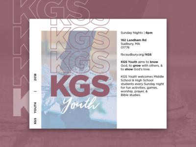 KGS Youth Summer 2018 Invitation