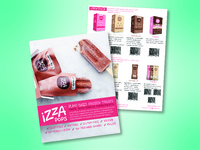 Izza Pops Sell Sheet