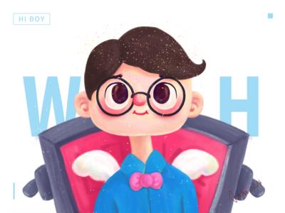 Hi boy~