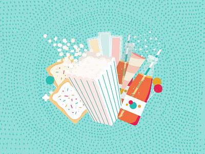 Makin' it POP! treat food candy sweet sugar otterpop lollipop poptart soda popcorn pop