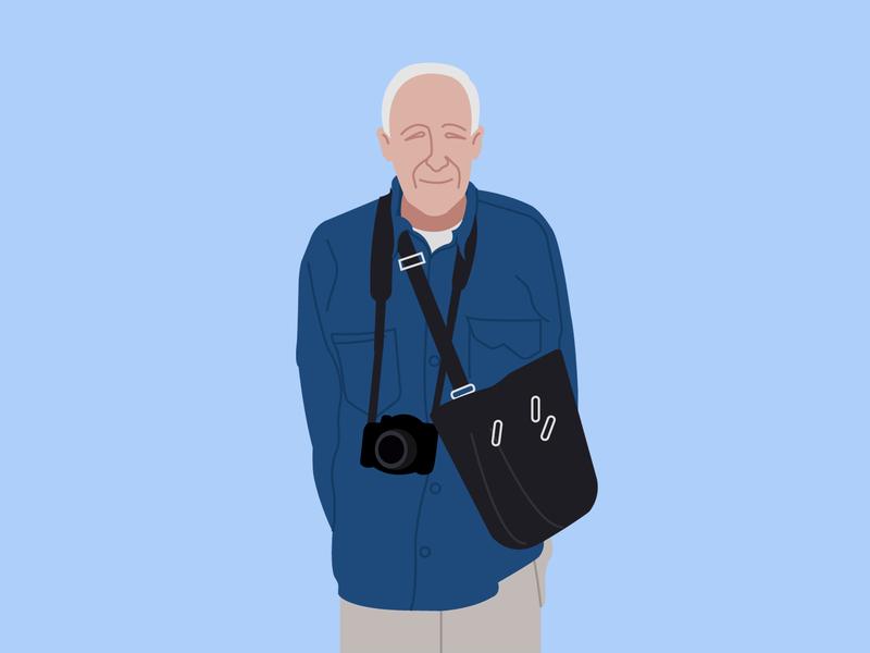 Old Man design illustration
