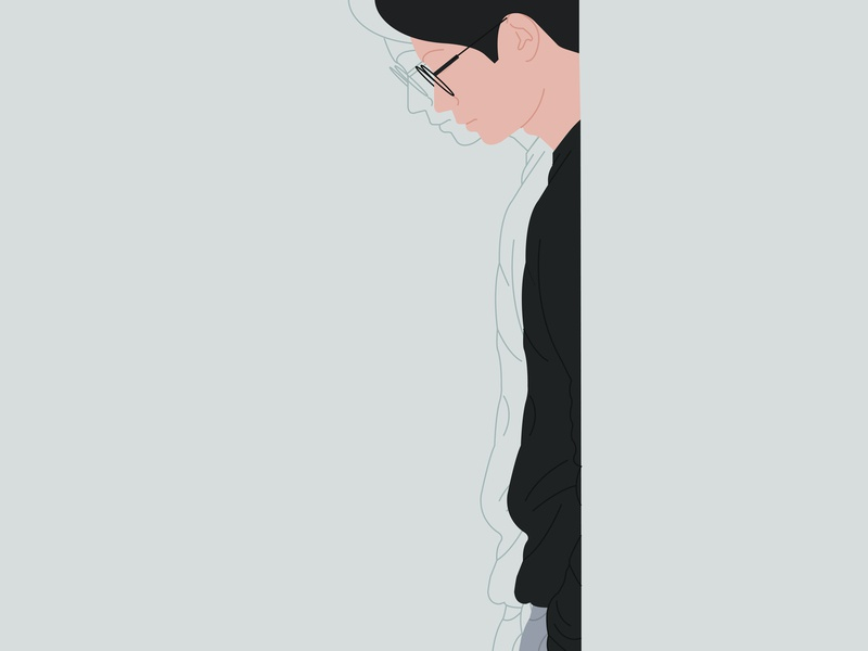 The Man vector design illustration