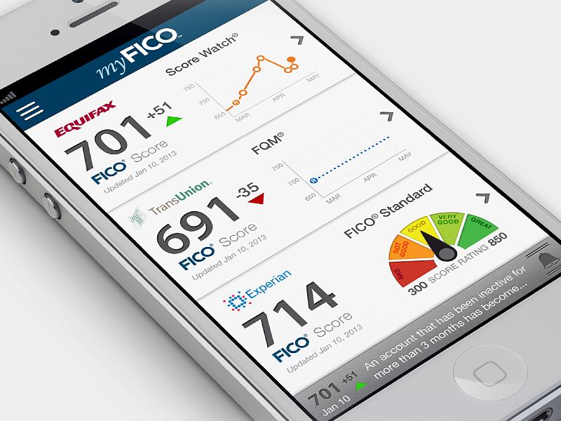 iPhone app in progress iphone app finance credit