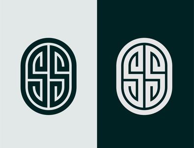 SS LOGO MONOGRAM DESIGN logodaily simple simple design logos monogram design vector logodesign icon logo