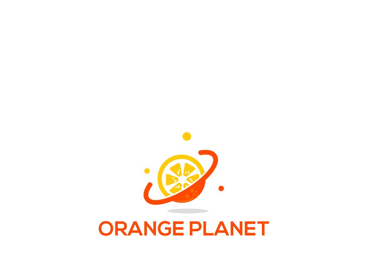 Planet Orange logoorange bussines design app design art logos fruit illustration monogram logodesign logodaily icon typography design logo branding vector type mix planet orange
