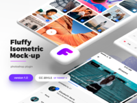Fluffy Isometric Mockup Plugin