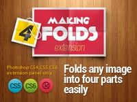 To 4 folds (PS Actions)