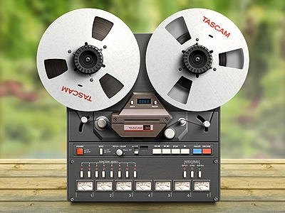 Recorder Tascam 38  icon recorder tascam process knob ui cassette interface music