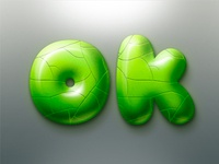 Green stone PS style