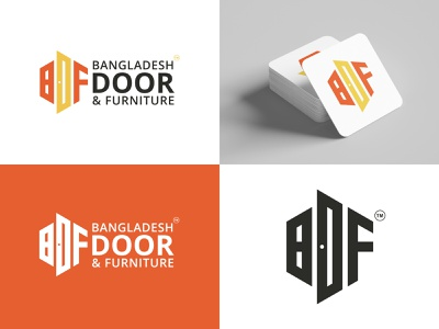Furniture Logo Design - Door Logo windows window new logo online doorway furniture logo furniture store furniture door logo doors door creative branding modern logo