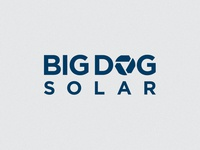 Big Dog Solar Logo