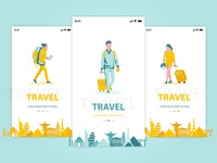Travel App On-Boarding Concept