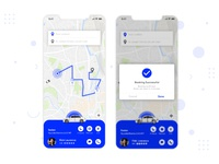 Taxi Booking App Designs