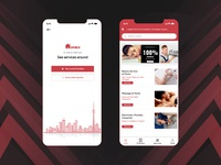 Home Services Booking App Design