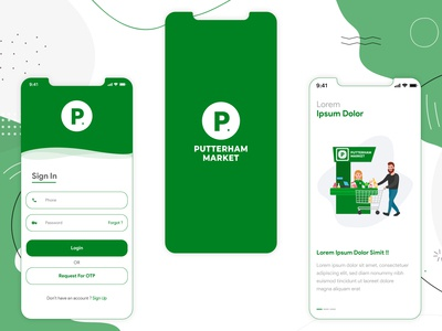 Grocery Delivery App Design