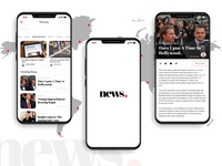 News Feed App design