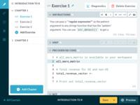 DataCamp Teach Editor
