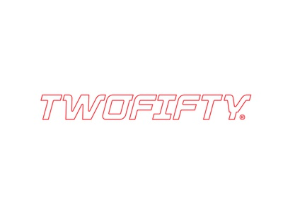 Twofifty colors type typography vector logo color shapes modular design design branding