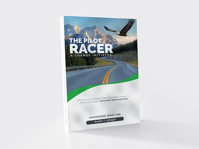 The Pilot Racer Book Cover Design illustrator book cover vector illustration illustrator design graphic design