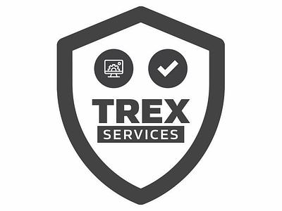 Trex Services Logo Design branding vector illustration logo graphic design illustrator logo design
