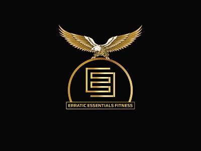 Erratic Essentials Fitness Logo branding logo design graphic design illustrator design logo vector illustration