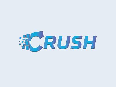 Crush Logo logo design graphic design branding illustrator design logo vector illustration