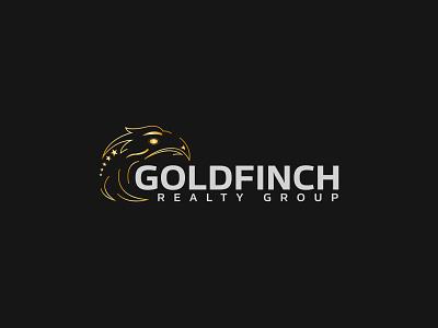 Goldfinch Reality Group Logo logo design graphic design branding illustrator design logo vector illustration