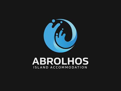 Abrolhos Island Accommodation Logo logo design graphic design branding illustrator design vector logo illustration
