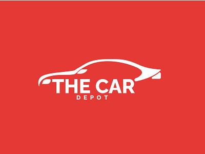 The Car Deport Logo logo design graphic design logo illustrator vector illustration design