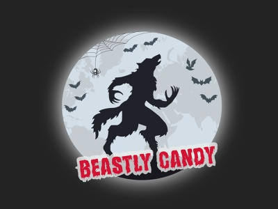 Halloween Logo creative illustration illustrator logo design branding graphic design logo vector design