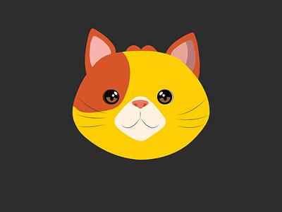 Cat Head Mascot Design branding graphic design illustrator vector illustration design