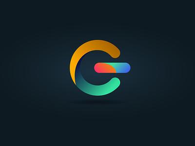 Gradient Technology Logo design creative branding logo logo design graphic design illustrator vector illustration
