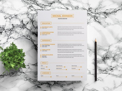 Free Clean and Minimalist Resume Template doc free resume template design resume freebie freebies