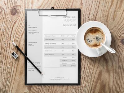 Free Corporate Invoice Template (FREEBIES)