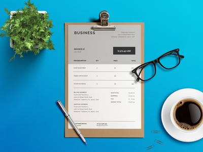 Invoice Template for Business (Freebies)
