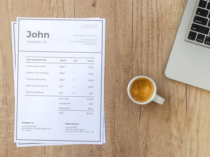 MS Word Invoice Template (FREEBIES) free invoice free invoice template design free bill template bill template invoice design invoice free billing template freebies freebie doc billing