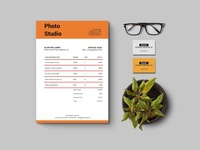 Free Clean Bill/Invoice Template