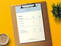 Invoice Template in MS Word (FREEBIES)