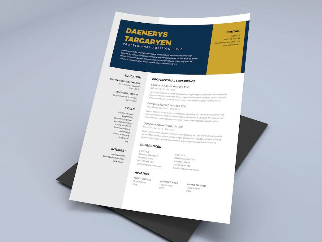 High School Resume Template (FREEBIES) by Alan Henderson on ...