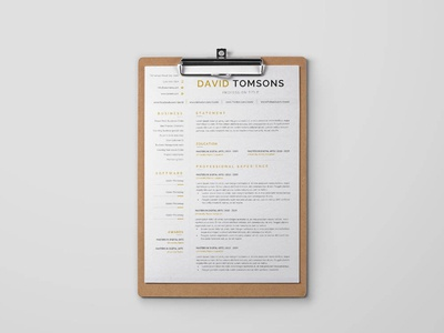 Free Receptionist Resume Template