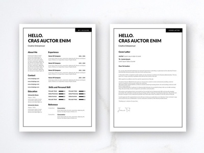 Free Resume Template Designs Themes Templates And Downloadable