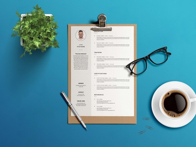 Free Formal CV/Resume Template