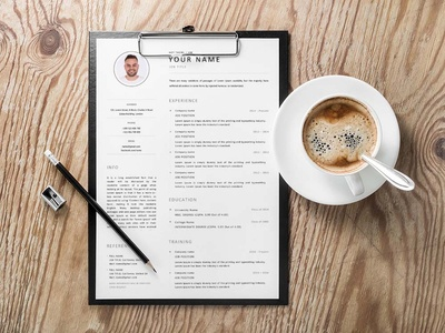 Free Clean Universal Resume Template