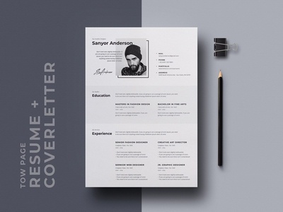 Free Stylish Resume Template