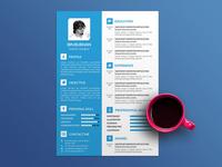 Free Graphic Designer Resume Template