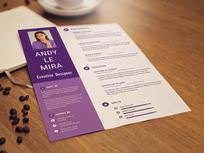 Free Professional Resume Template photoshop free psd free cv template free cv curriculum vitae design free resume template resume freebies freebie