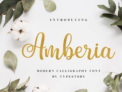 Amberia Modern Calligraphy