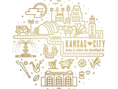 KCMO poster kansas city missouri kansas kcmo